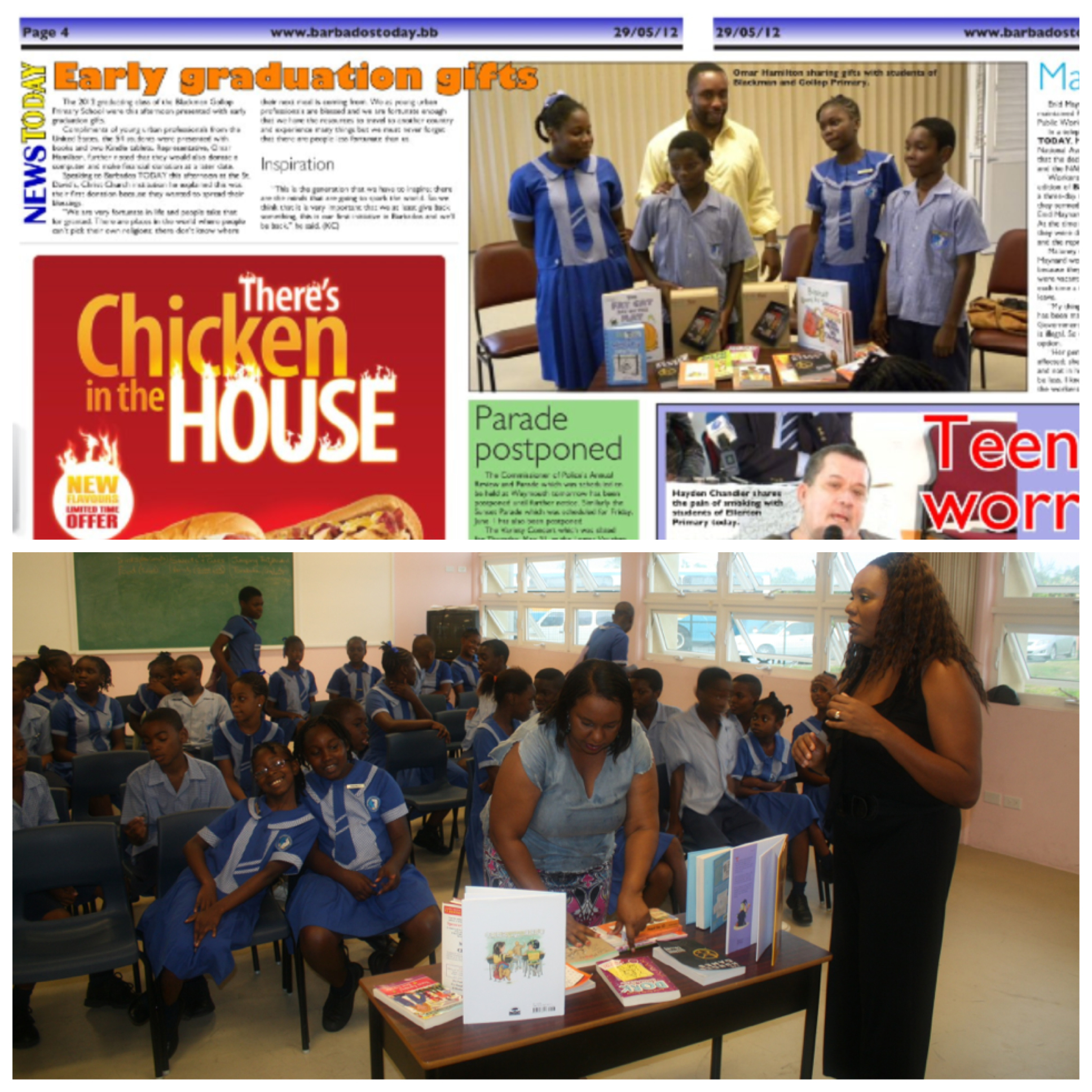 Barbados Article & classroom books-1