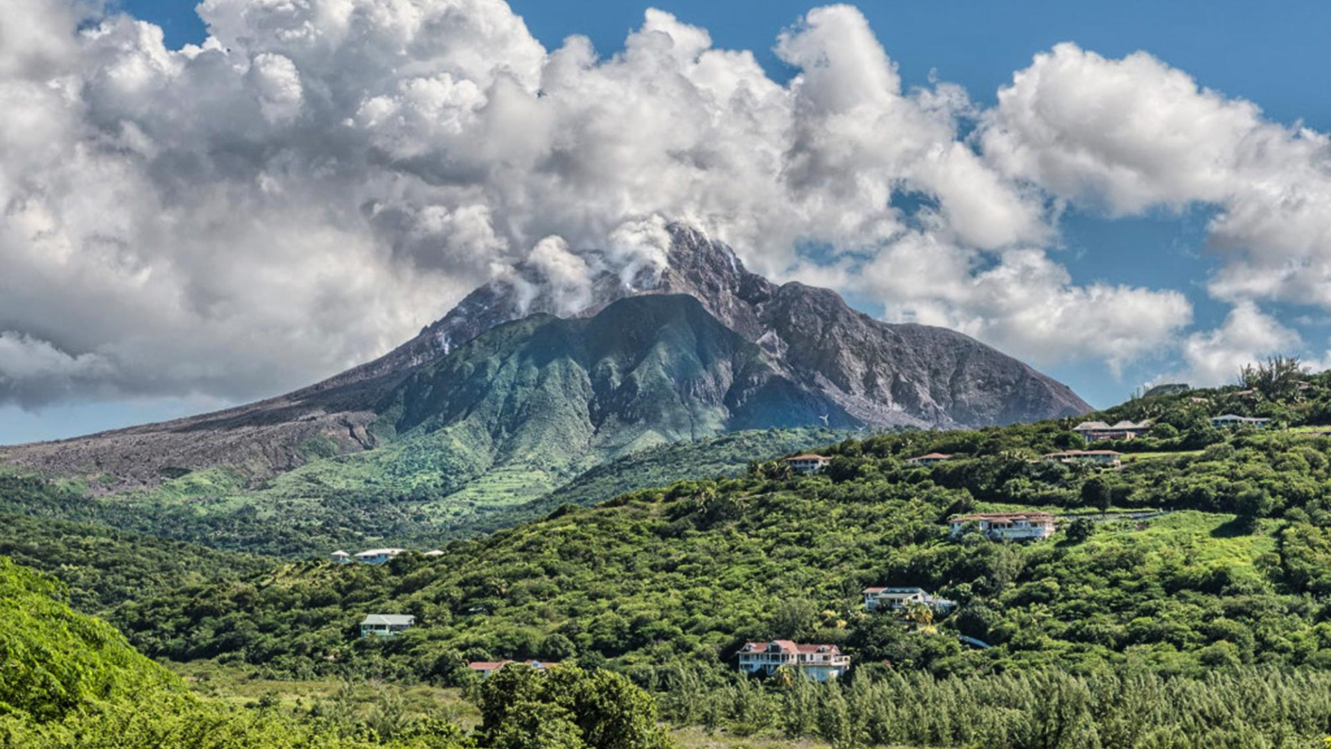 Montserrat- volcano